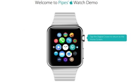 De demo van de Apple Watch