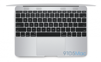 MacBook Air 12 inch boven