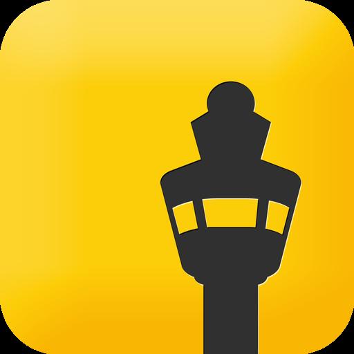 Schiphol iOS app icon