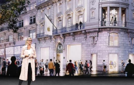 Angela Ahrendts presentatie Apple Stores