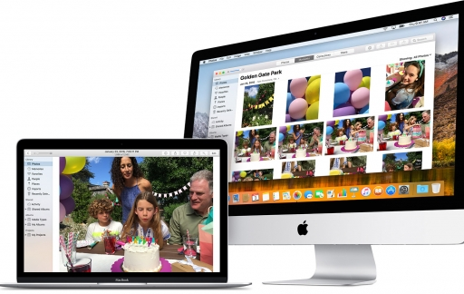 Foto's-appFoto's-app in macOS. MacOS