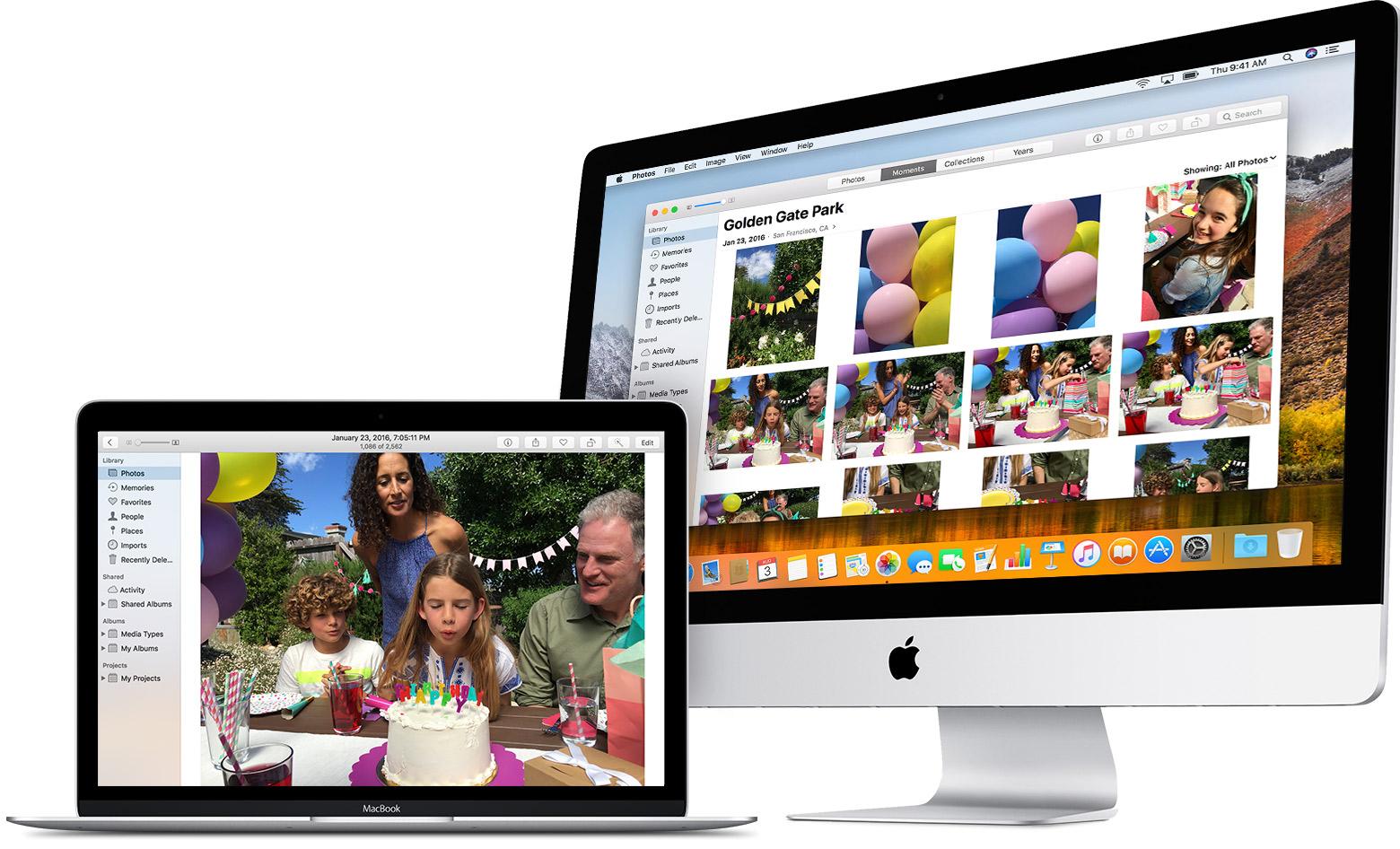 Foto's-app MacOS
