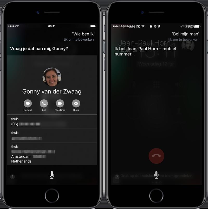 Siri: eigenaar iPhone achterhalen