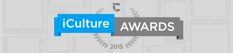 iCulture Awards Banner 2015