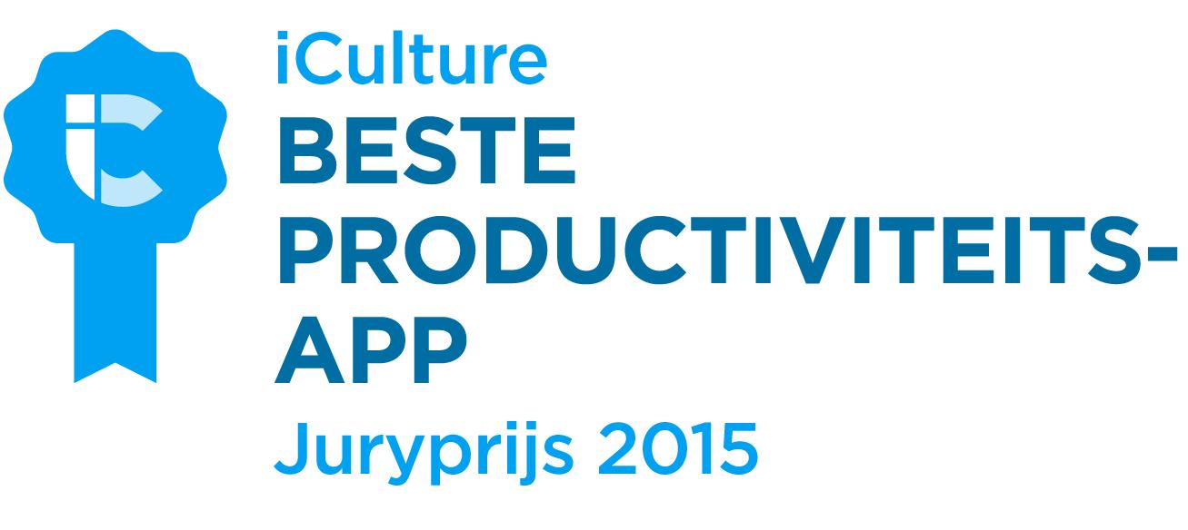 iCulture Awards Beste Productiviteitsapp 2015