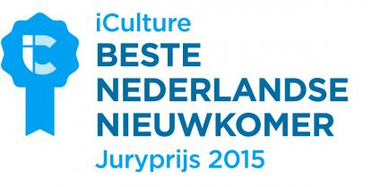 iCulture Awards: Beste Nederlandse Nieuwkomer 2015