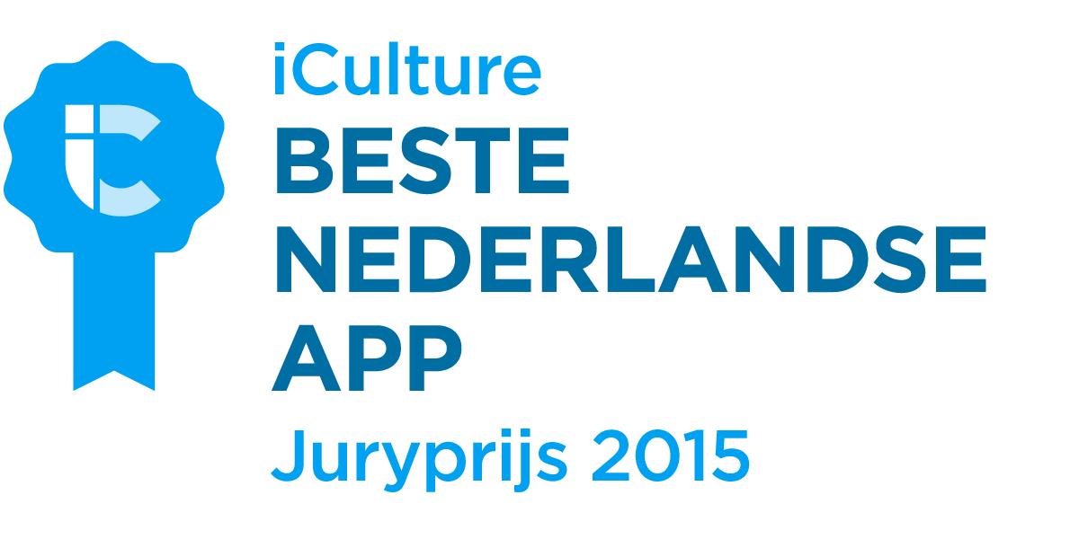 iCulture Awards Beste Nederlandse App 2015