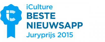 iCulture Awards Beste Nieuwsapp 2015
