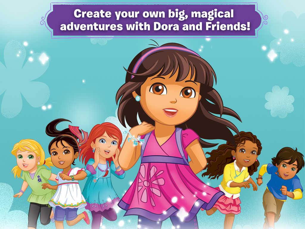 Dora en haar vriendjes
