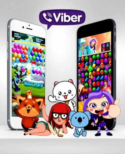 Viber Games Stickers