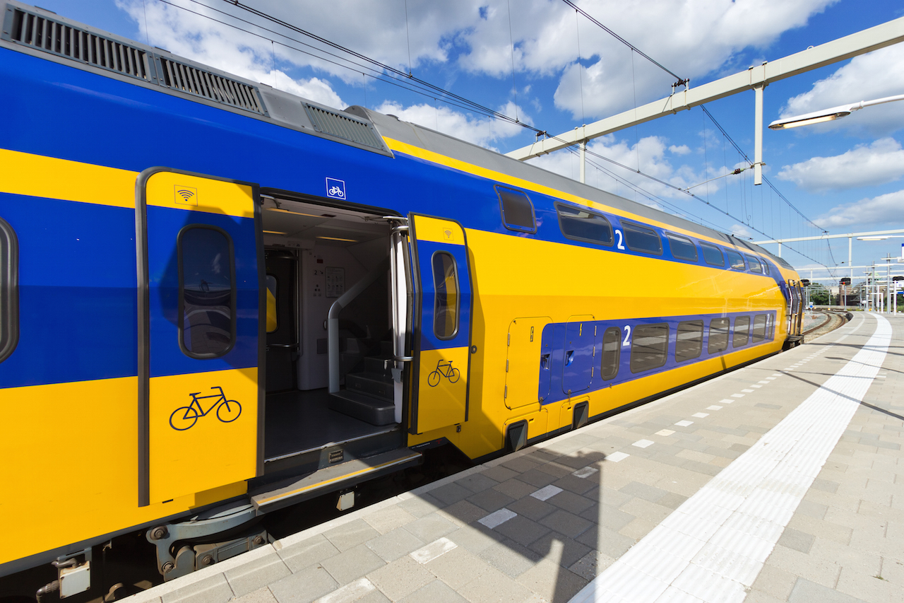 Intercity train in The Netherlands (c) VanderWolf Images/Shutterstock