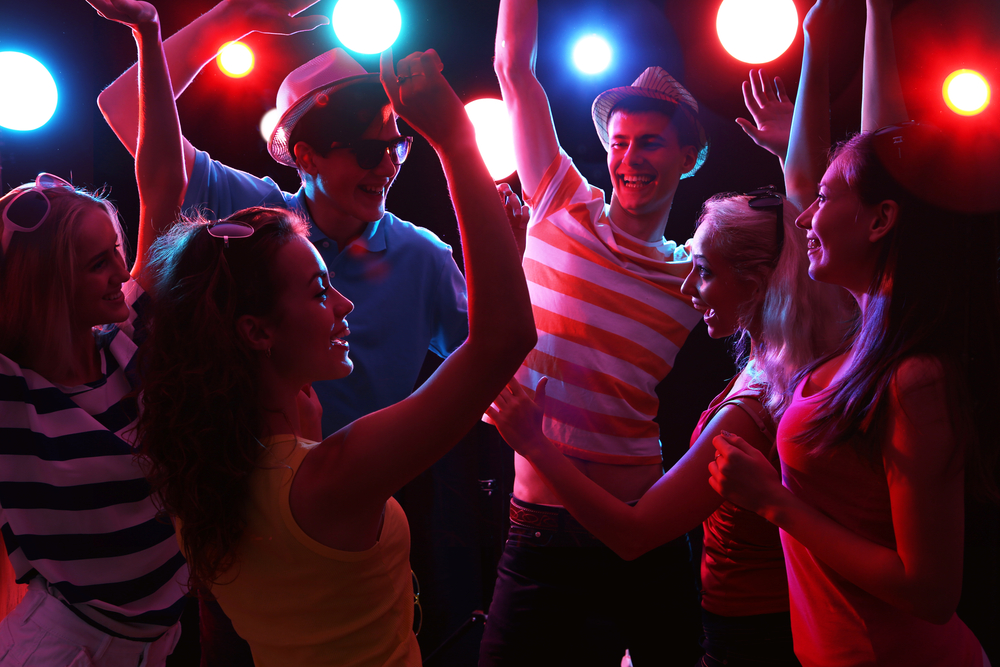 Young People Having Fun Dancing At Party (c) Konstantin Chagin/Shutterstock