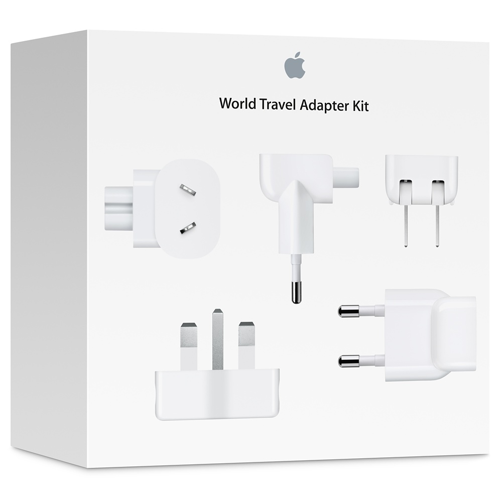 World Travel Adapter Kit