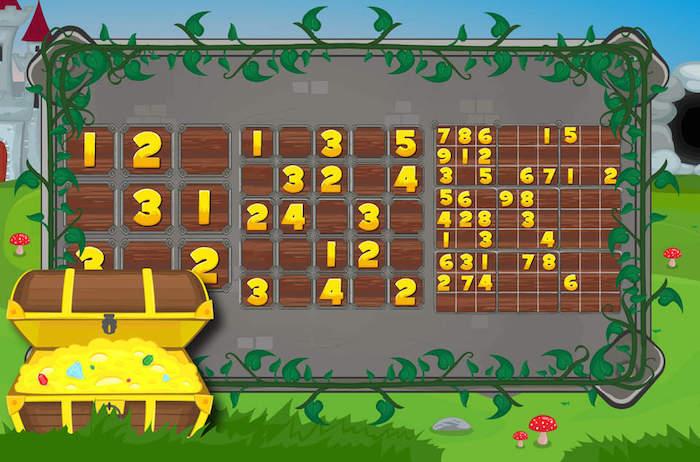 Sudoku Draken Avontuur screen