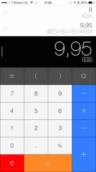 Calcbot rekenmachine