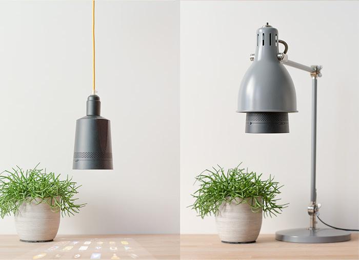 Beam projector lamp