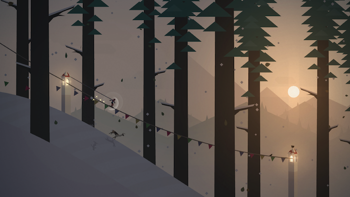 Alto's Adventure sunset
