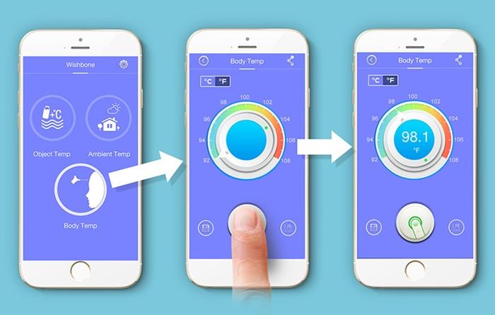 wishbone thermometer app
