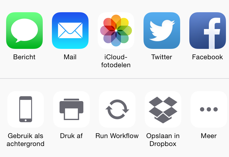 Dropbox extensie