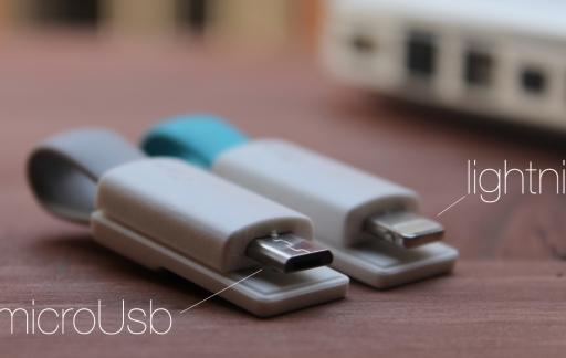 inCharge usb kabel sleutelhanger