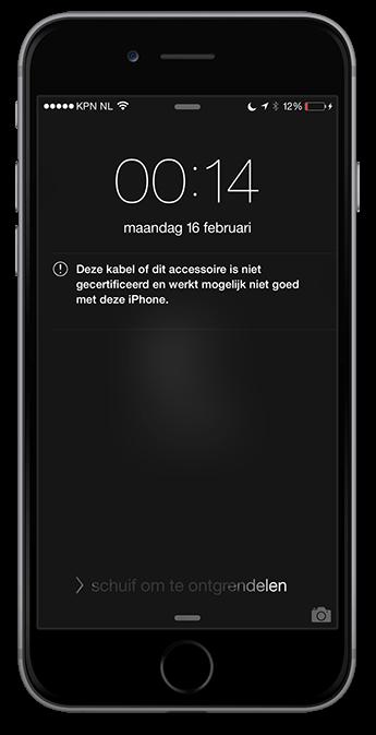 iphone-kabel-niet-gecertificeerd