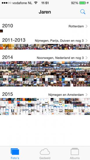Fotos jaar
