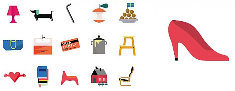 IKEA emoticons app
