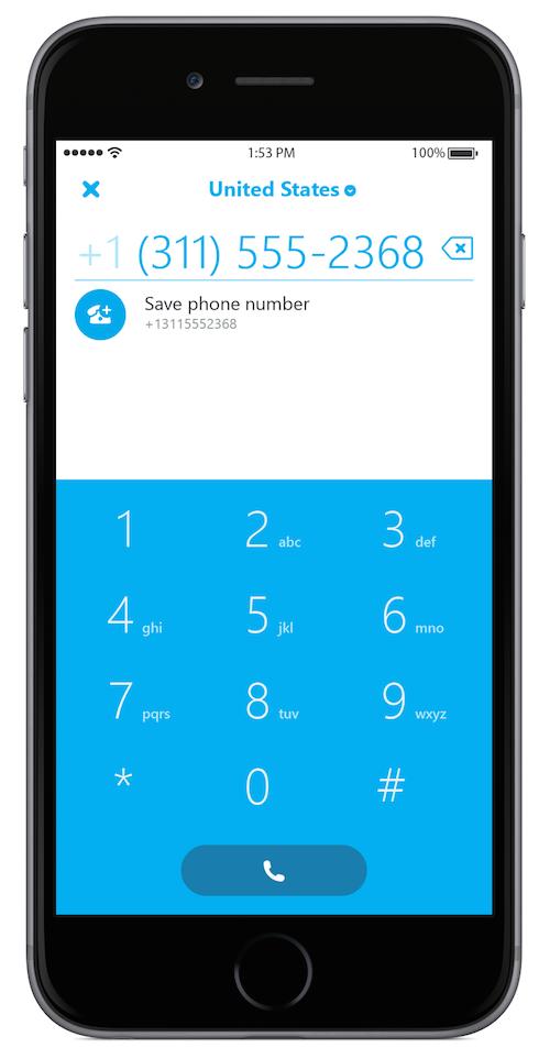 Skype dialer 5.1