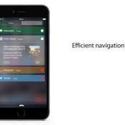 Concept Berichtencentrum iOS 9