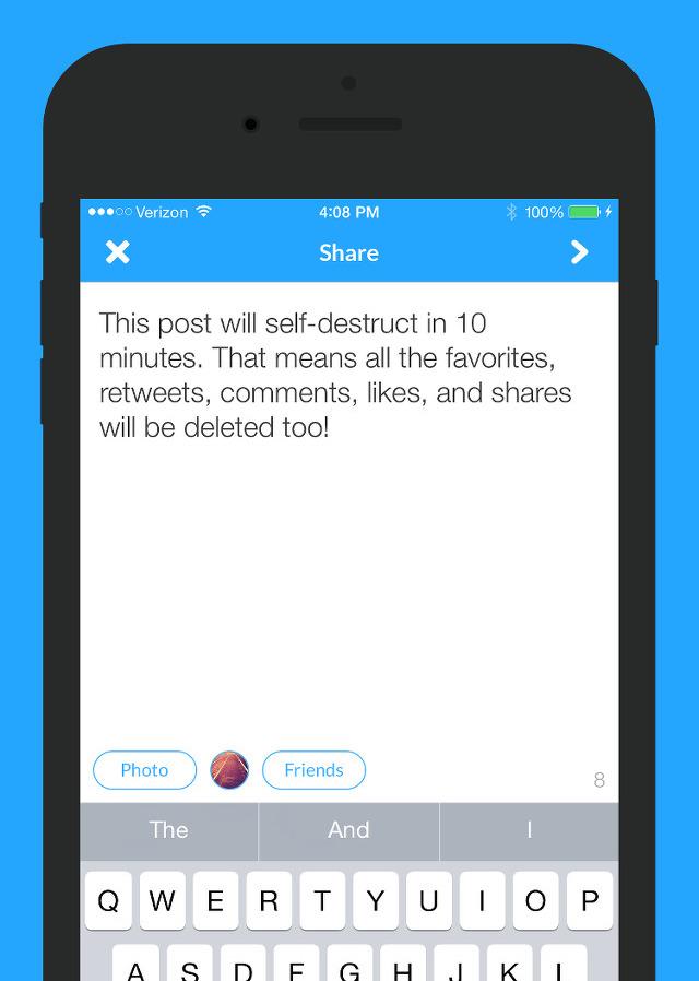 Xpire iOS app