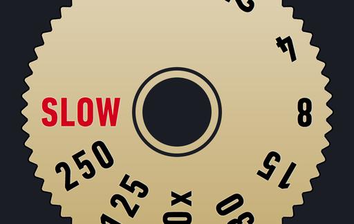 Slow Shutter icoon