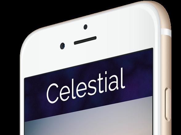 Celestial iPhone featured