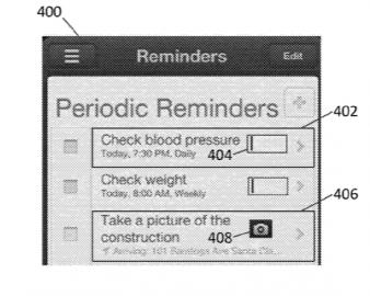 Apple patent ontgrendelen met gezondheidsfunctie