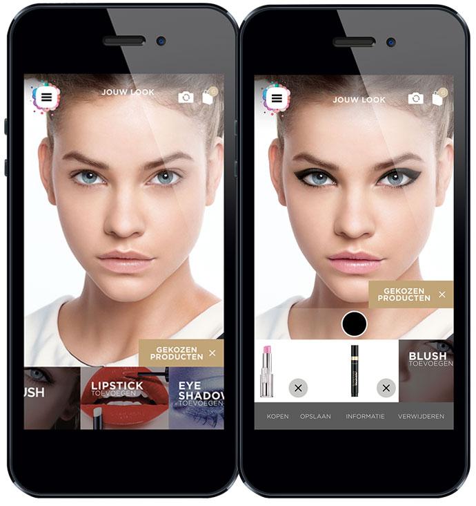 Makeup genius screen