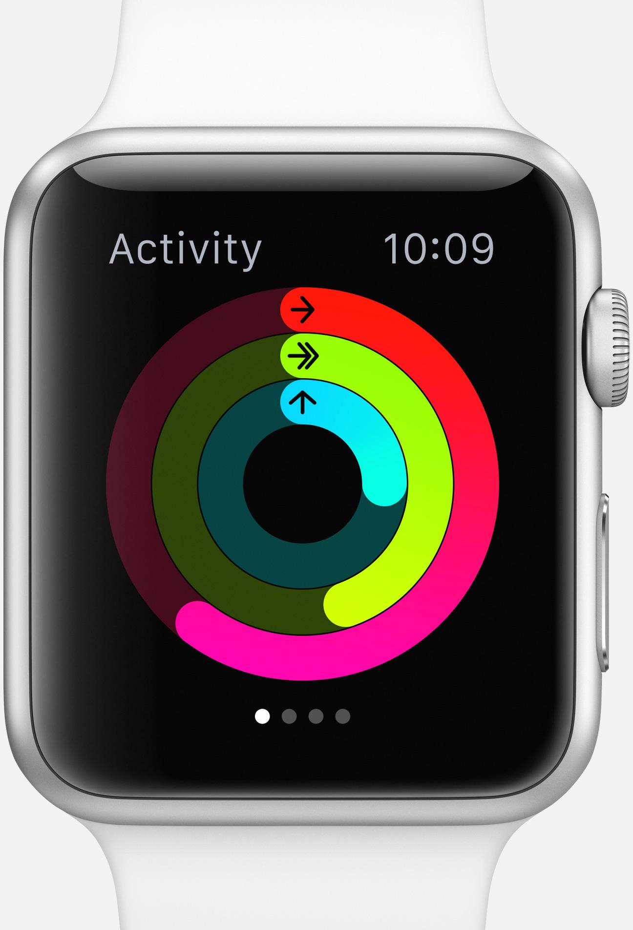 apple watch gezondheid overzicht