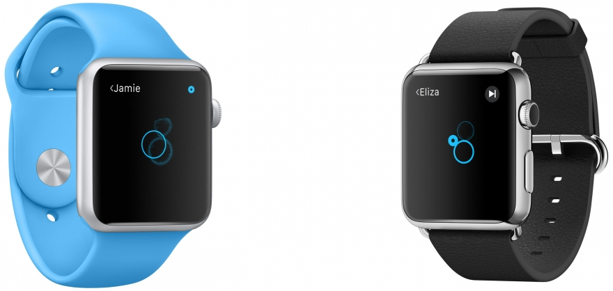 Apple Watch tikken