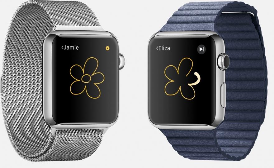 Apple Watch tekenen
