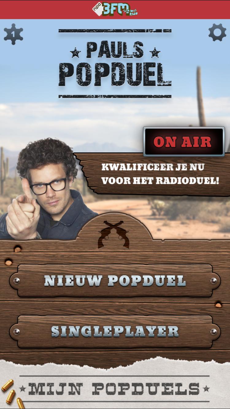 Pauls Popduel app screenshot