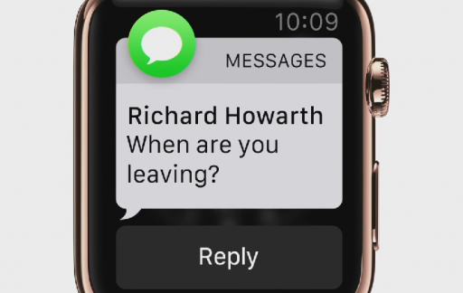 Apple Watch notificatie
