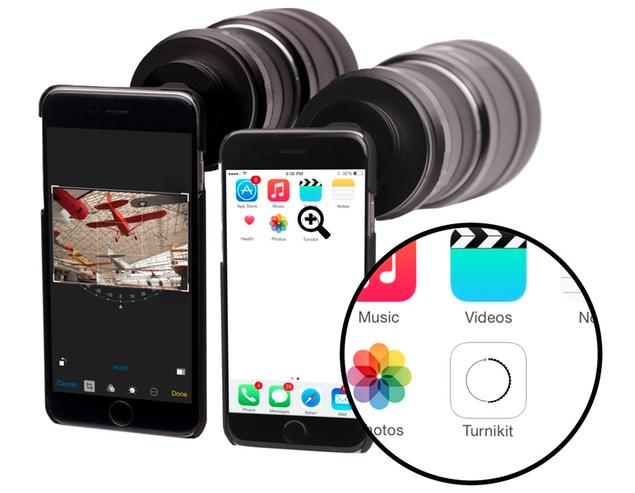 Turnikit adapter voor iPhone