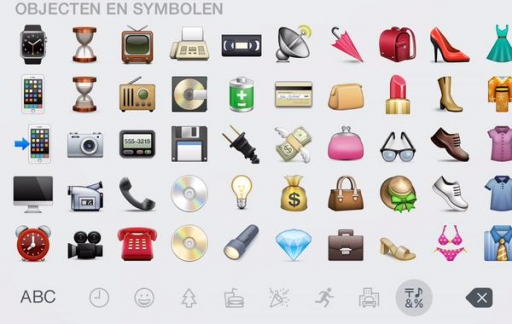 Apple Watch emoji verzameling