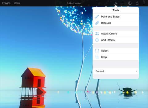 Pixelmator ipad screenshot