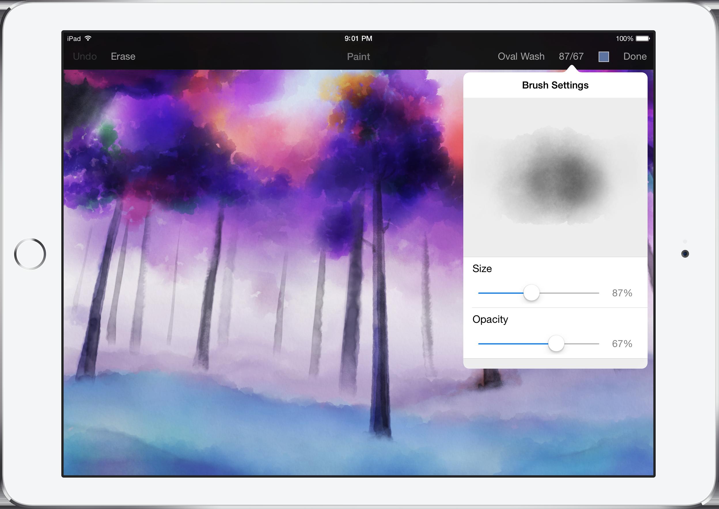 Pixelmator 1.1 ipad