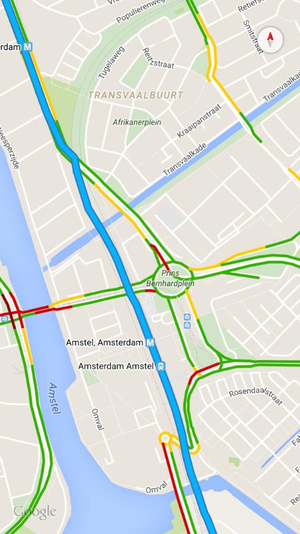 Google Maps fullscreen (Custom)