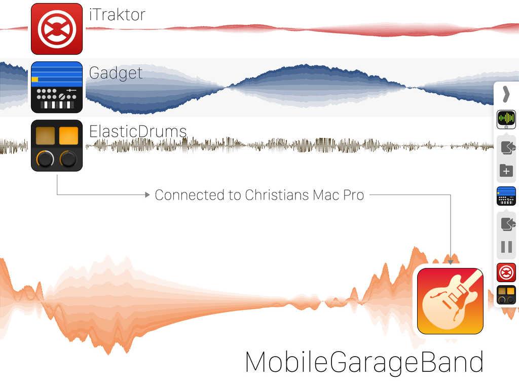 Audiomux screenshot