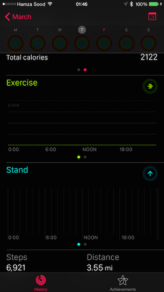 Activity App excercise
