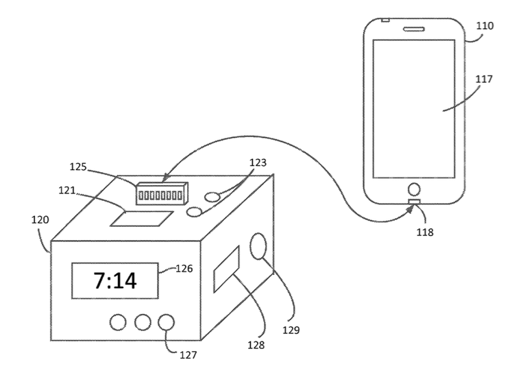 Apple patent dock