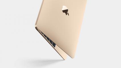MacBook goud