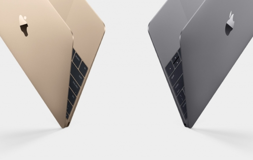 MacBook Gold & Space Grey