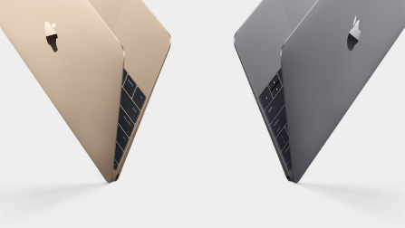 macbook goud spacegrijs